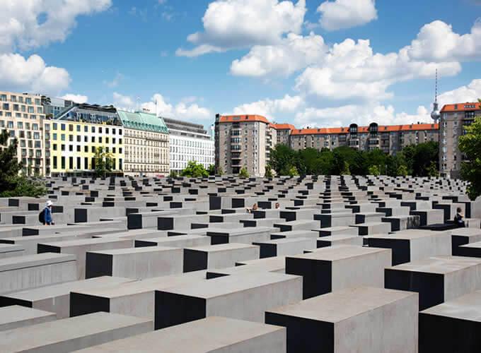 Memorial aos Judeus Mortos na Europa em Berlim
