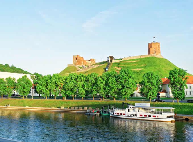 Rio Neris em Vilnius