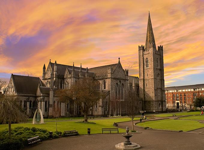 Saint Patrick's Cathedral em Dublin na Irlanda