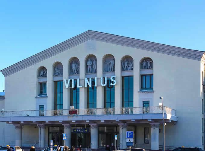 Aeroporto de Vilnius - Lituânia