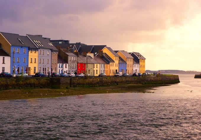 baía de Galway - Irlanda ponto turístico