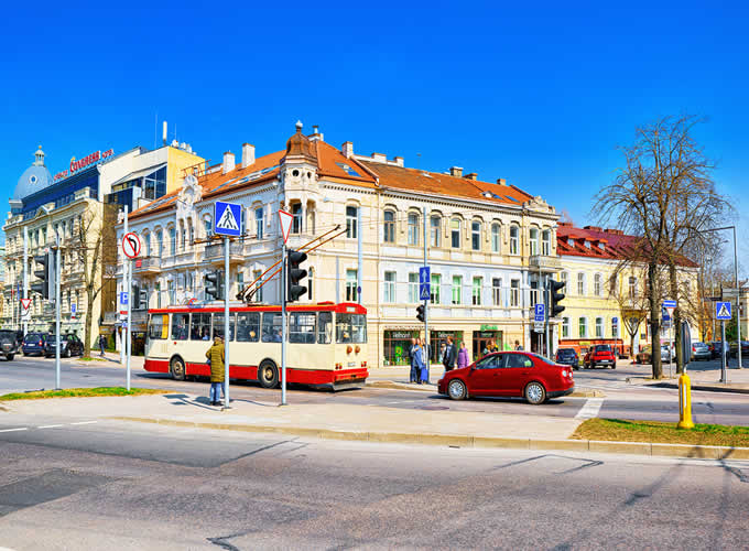 Vilnius cidade velha - Parte histórica