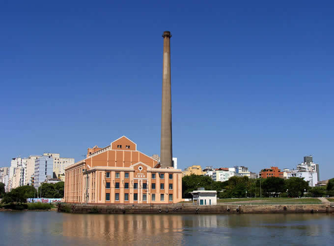 Usina do Gasômetro - Ponto turístico Porto Alegre