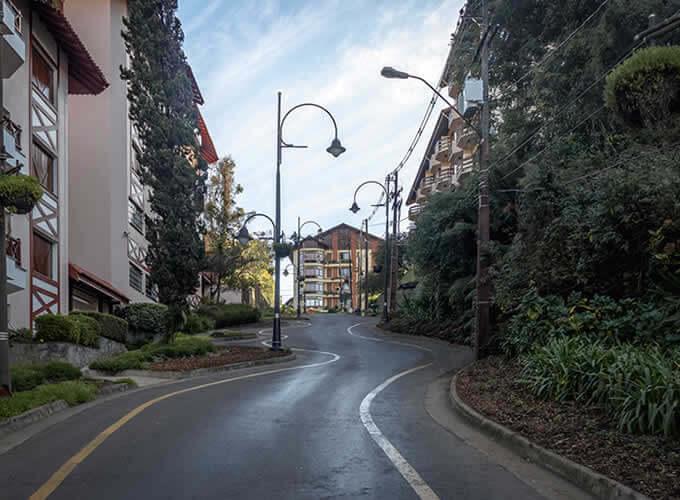 Rua Torta - Ponto turístico de Gramado