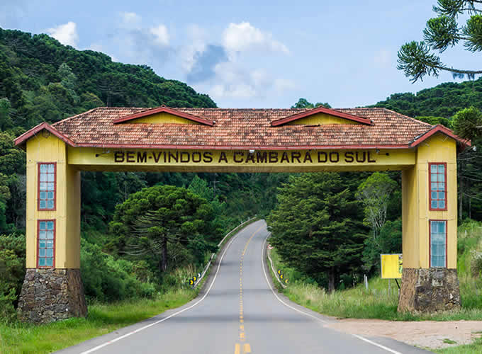 Pórtico de Cambará do Sul - Rio Grande do Sul