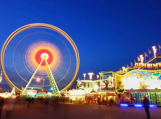 Frühlingsfest - Festival de Primavera na Alemanha