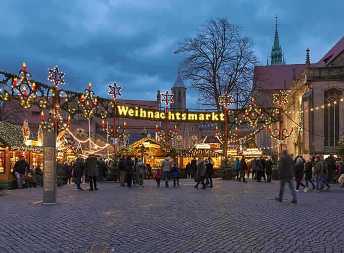 Weihnachtsmarkt - Mercados de Natal na Alemanha