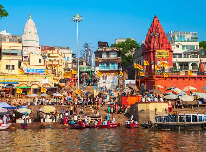 Cidade de Varanasi - Rio Ganges