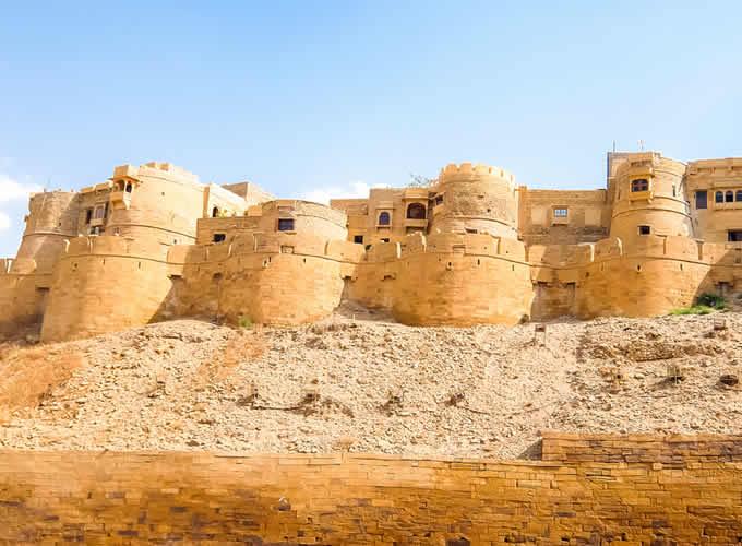 Forte Jaisalmer na Índia